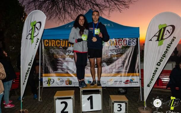 Tiago Conceição e Elsa Gonçalves foram primeiros na 1ª etapa da Corrida Contra-Relógio dos Escadórios do Bom Jesus