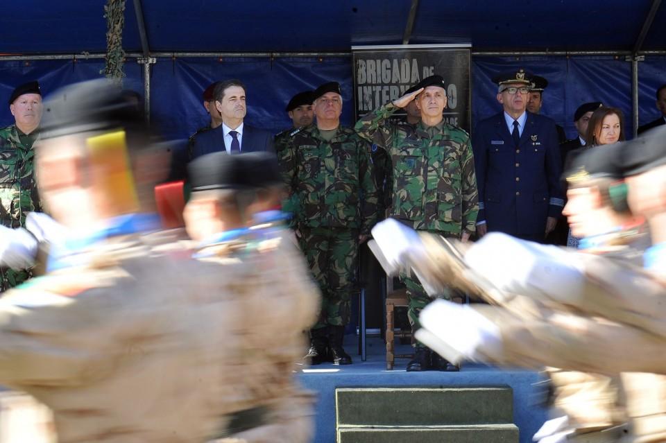 Recepção do Estandarte da 3.ª Força Nacional destacada no Afeganistão em Braga