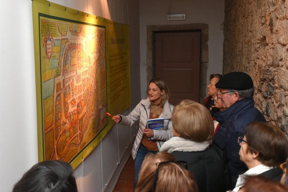 Braga – Uma centena de participantes visitaram a Torre Medieval do Museu Pio XII