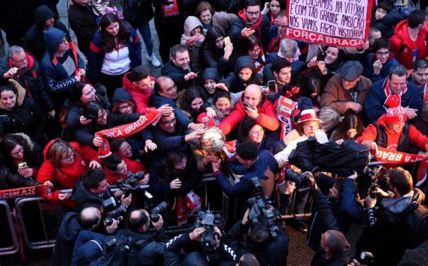 Braga homenageou Campeões de Inverno