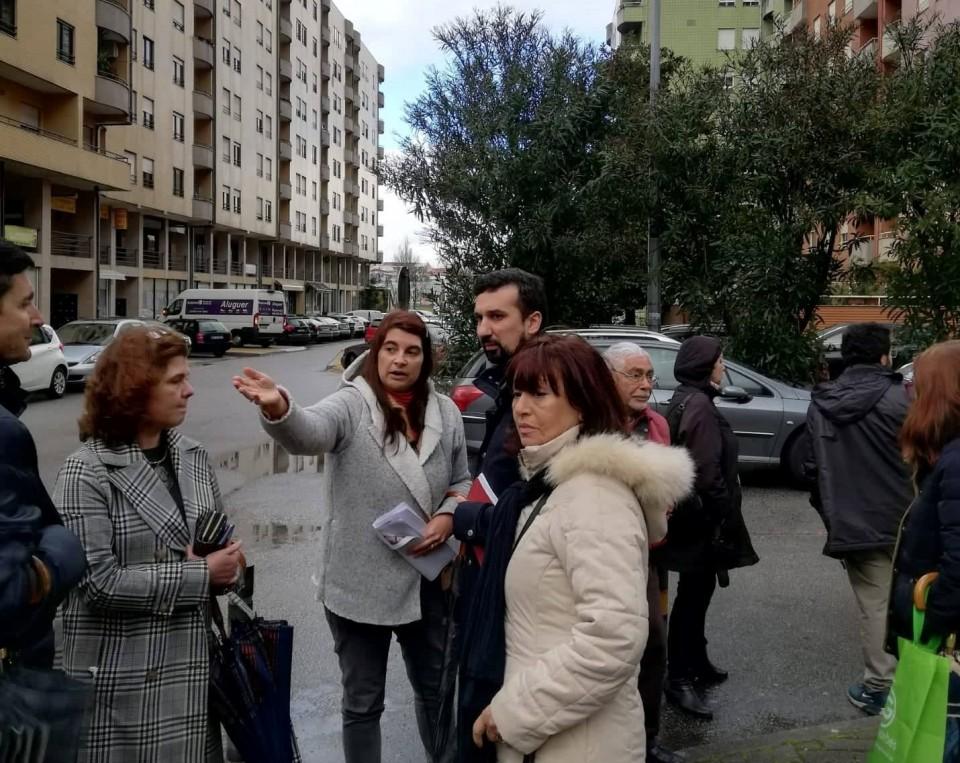 """Braga - CDU ouve """"coro de críticas"""" às obras na 'urbanização da Makro'"""