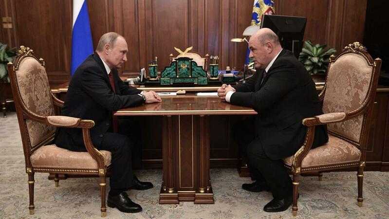 Medvedev demite-se e Putin escolhe Mishustin para chefiar governo russo