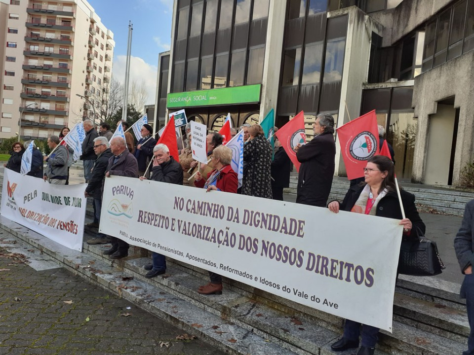 """Reformados exigem que Orçamento de Estado promova """"avanços significativos"""" na melhoria da qualidade de vida"""