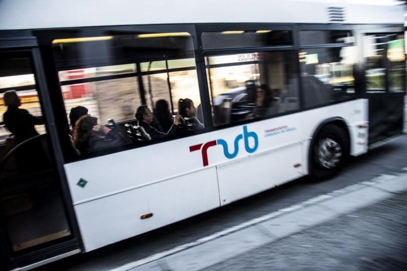 Passe dos Transportes Urbanos de Braga desce 30 por cento para 20 mil utentes esta sexta-feira