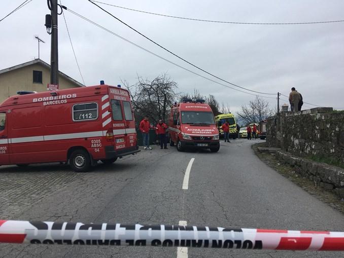 Jovem de 25 anos morre em colisão com ambulância do INEM em Barcelos