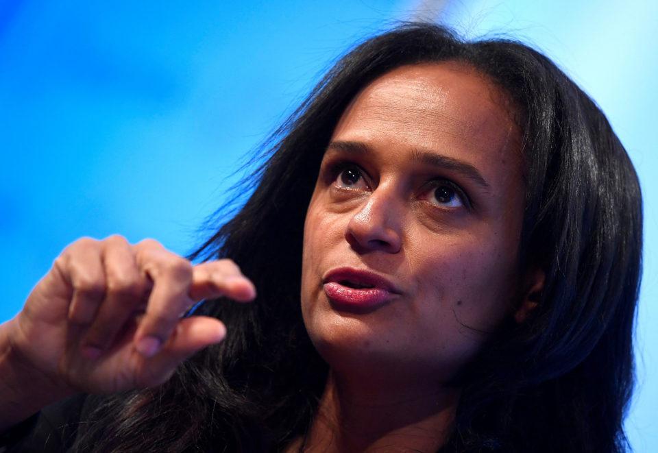 Última Hora. Justiça portuguesa congela contas bancárias de Isabel dos Santos