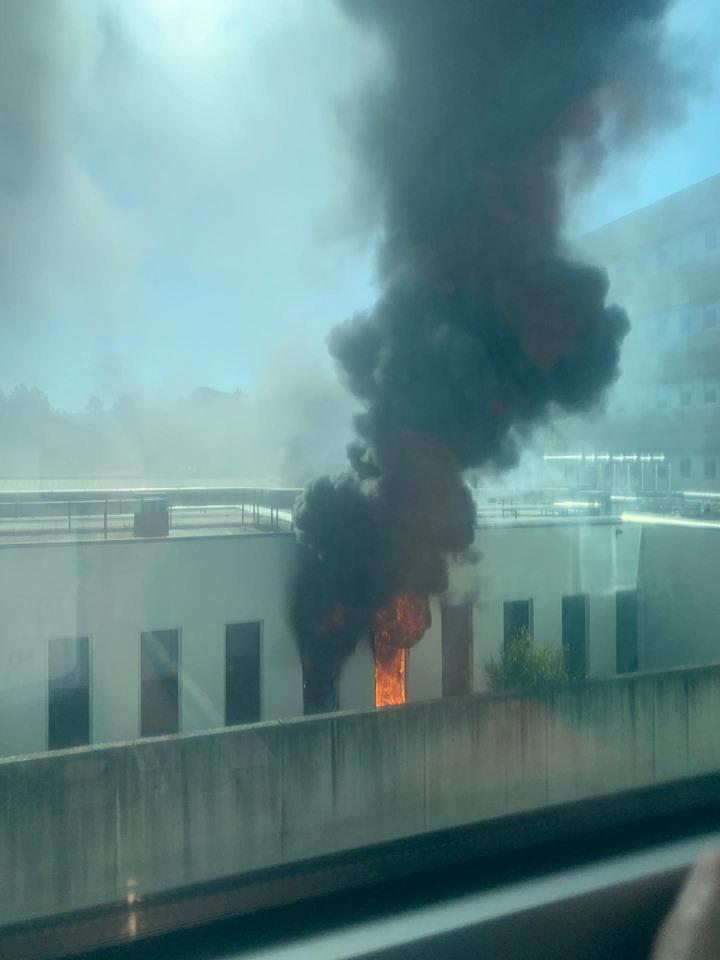 Incêndio na ala de Psiquiatria do Hospital de Braga faz dois feridos