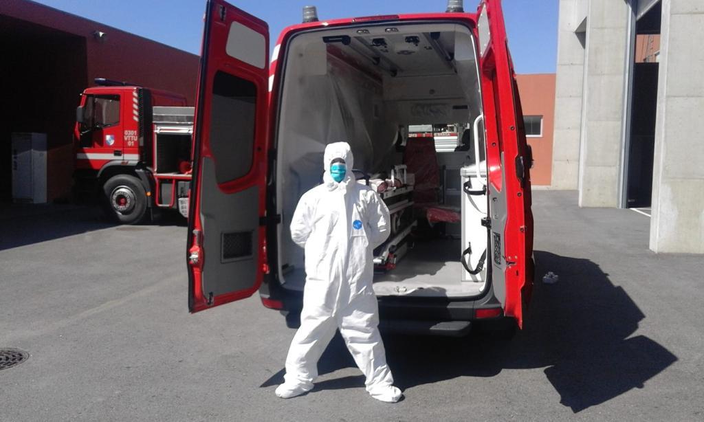 Companhia de Sapadores de Braga activou plano de contingência bombeiro ter sido infectado pelo Covid-19