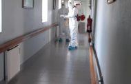 Bombeiros Sapadores de Braga desinfectam Asilo de São José