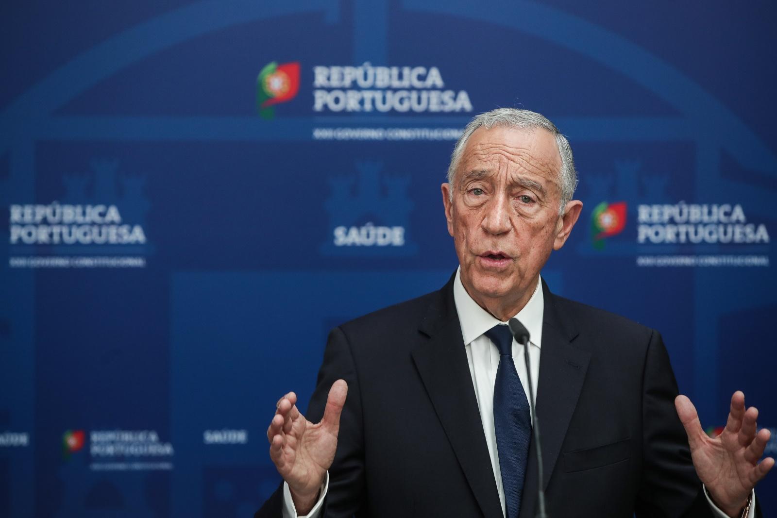Covid-19: Presidente da República propõe ao parlamento renovação do estado de emergência