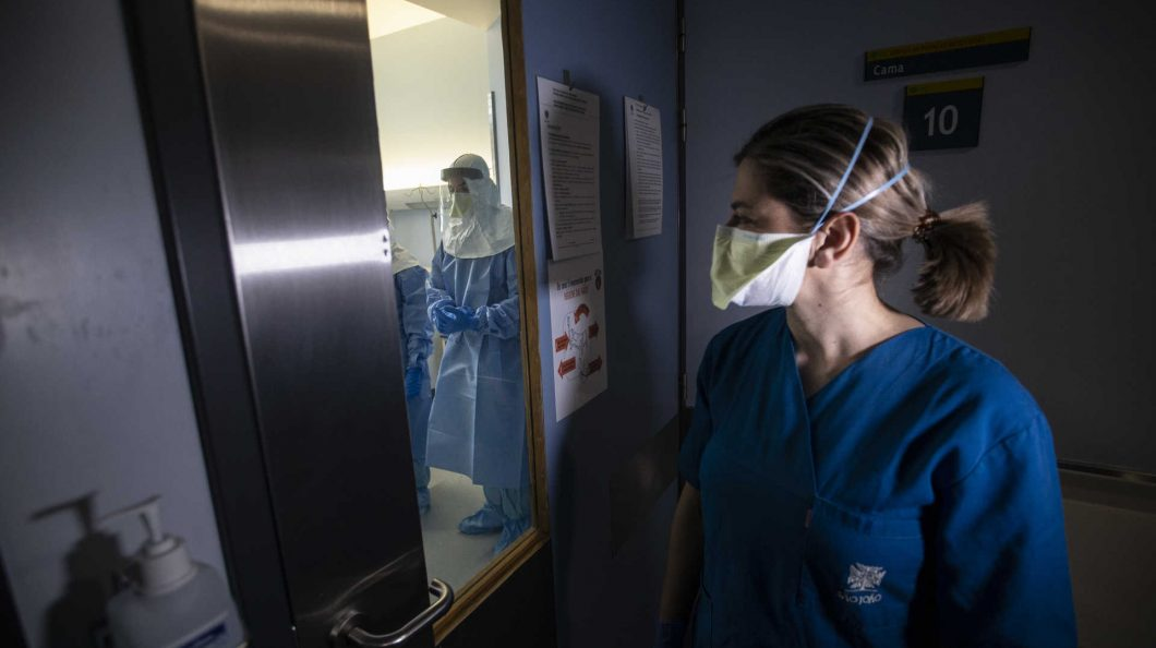 Portugal ultrapassa 10 mil infectados com 266 mortes e 75 curados