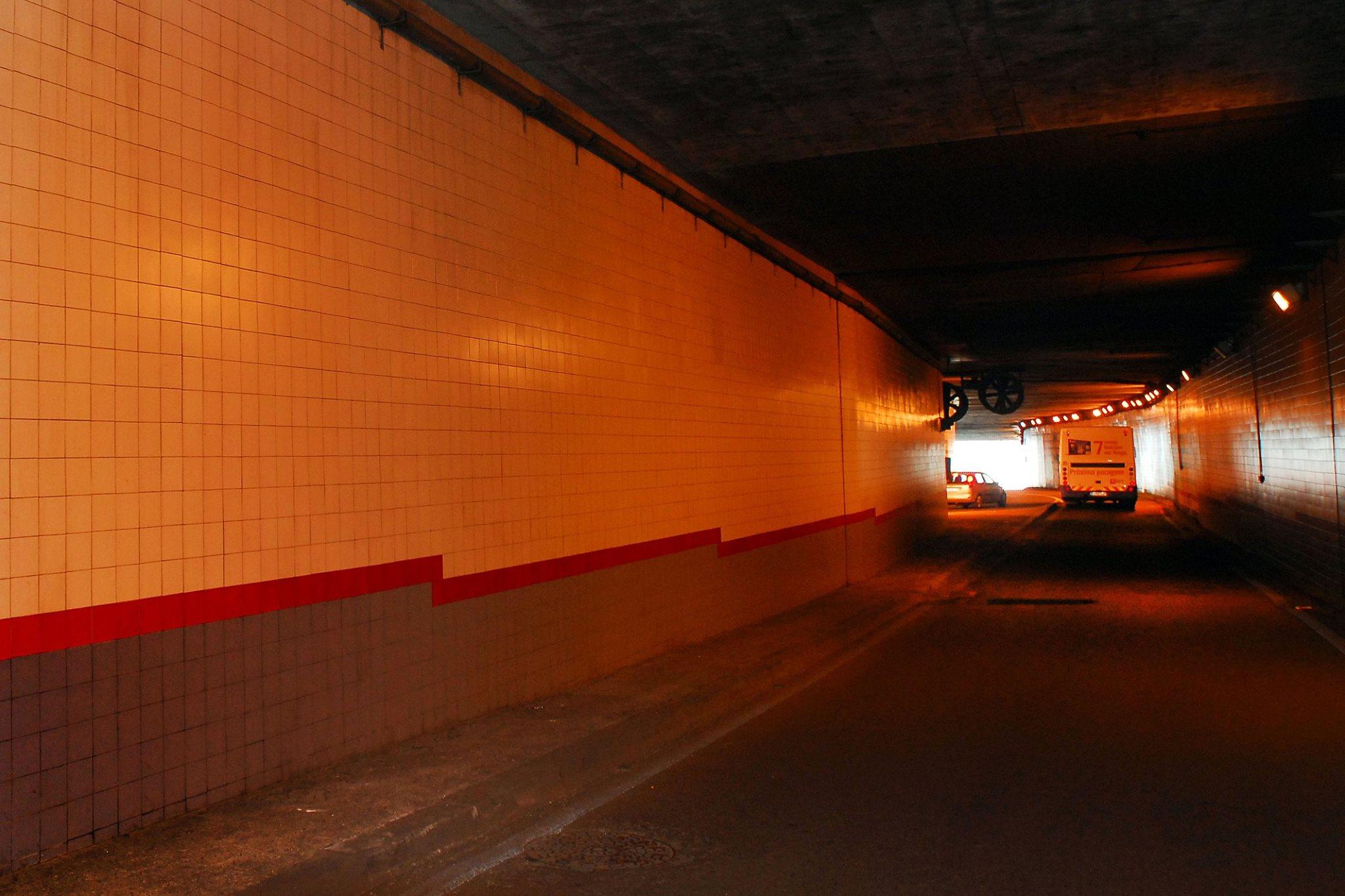Braga. Túnel da avenida da Liberdade encerra para vistoria esta segunda-feira