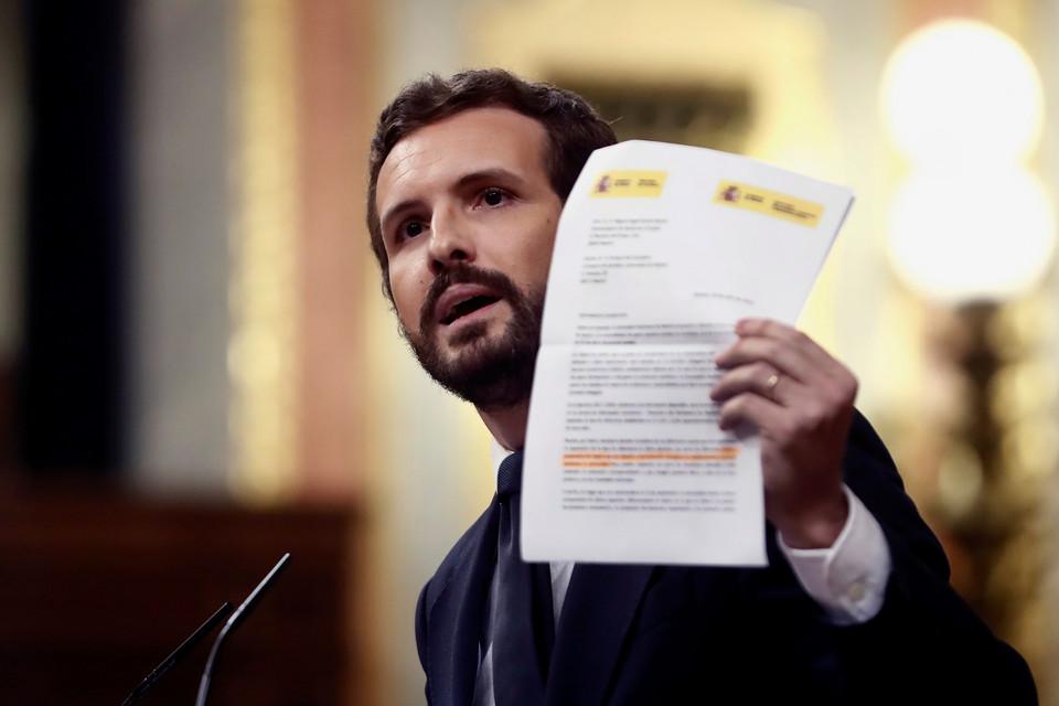 """""""Como é possível Portugal ter 700 mortos e nós mais de 20.000'?"""", pergunta líder da oposição espanhola"""