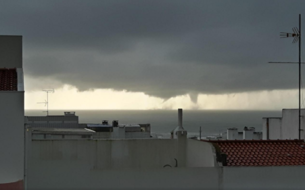 Tornado ao largo de Viana do Castelo (c/vídeo)