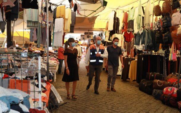 Miguel Costa Gomes visita 'nova' Feira de Barcelos