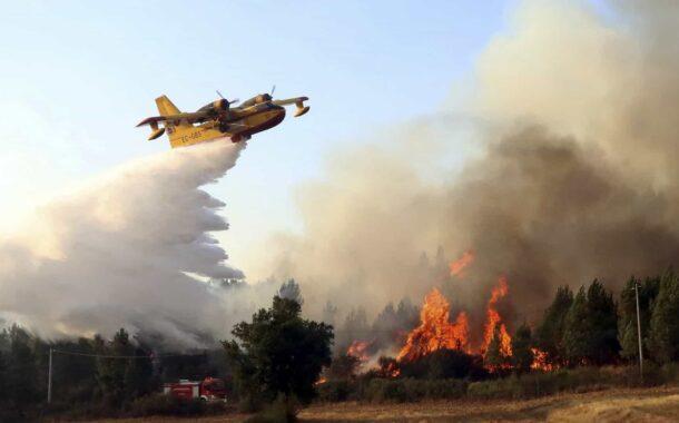 Fogos florestais. Braga pede autorização para que meios aéreos pesados actuem no distrito