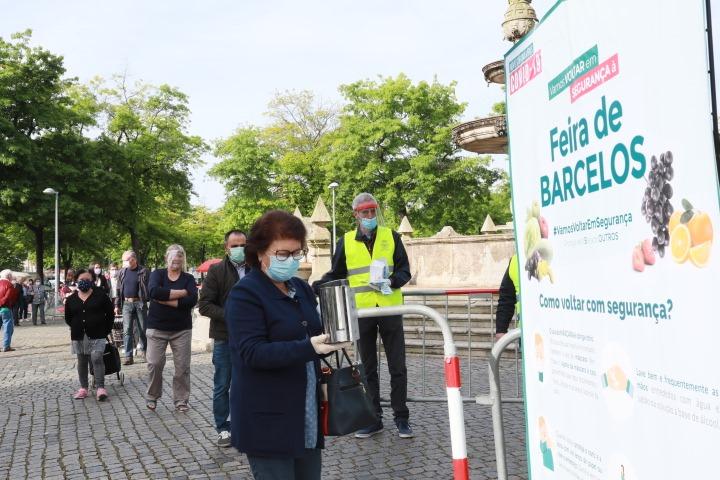 Feira Semanal de Barcelos está de volta esta quinta-feira