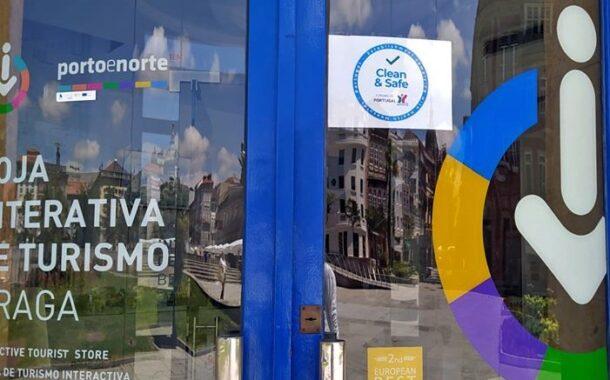 Posto de Turismo de Braga já tem selo Clean & Safe