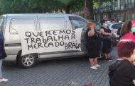Feirantes do mercado protestam junto à Câmara de Braga. Não aceitam trabalhar na alameda do Estádio municipal
