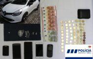 PSP deteve suspeita de tráfico após perseguição automóvel em Guimarães