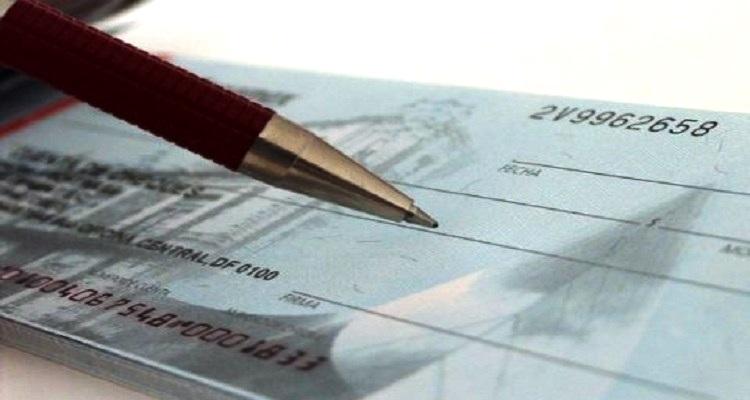 Cheques carecas quase duplicaram no estado de emergência