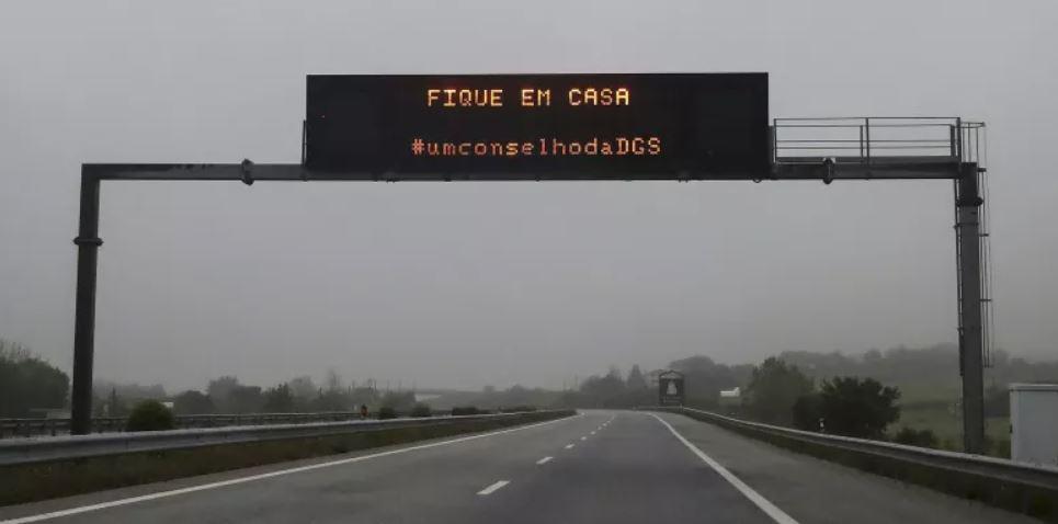 Número de mortos nas estradas cai 90% durante estado emergência em Portugal