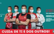 Atletas de Esposende dão cara em campanha para uso de máscara