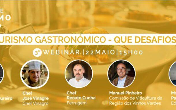 3.º Fórum de Turismo Visit Braga debate 'Turismo Gastronómico – Que Desafios?' esta sexta-feira