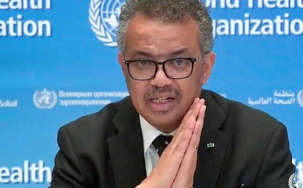 """Pandemia """"está a crescer a um ritmo alarmante"""", alerta a OMS"""