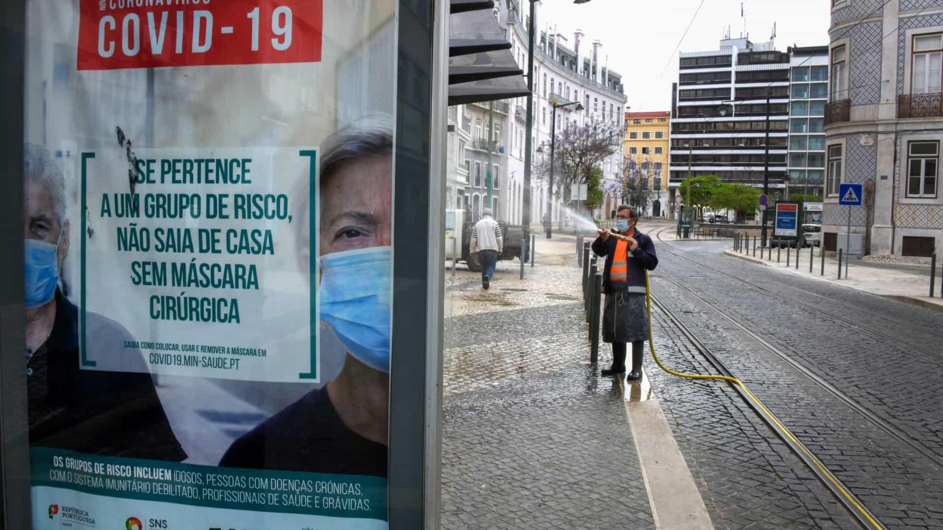 Covid-19 faz oito mortos e 331 infectados nas últimas 24 horas em Portugal