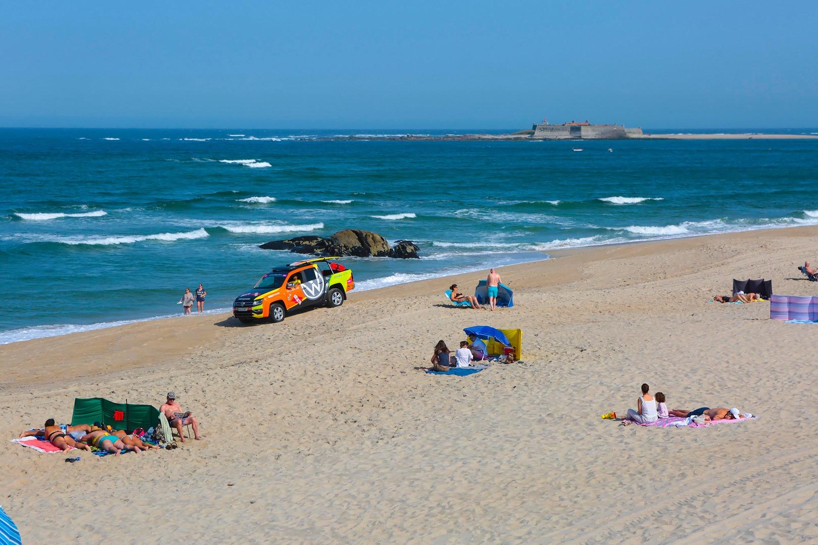Caminha reforça medidas de segurança e vigilância nas praias