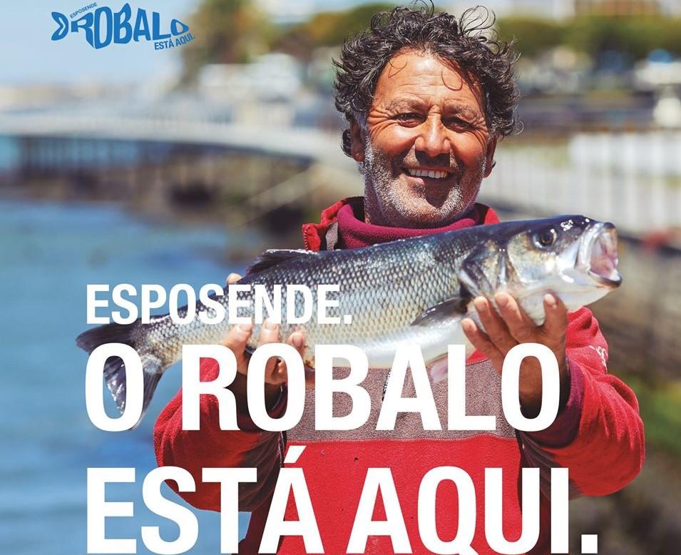 """Onde está o Robalo? """"O Robalo está aqui"""" para mostrar Esposende como gastronómico de peixe e marisco"""