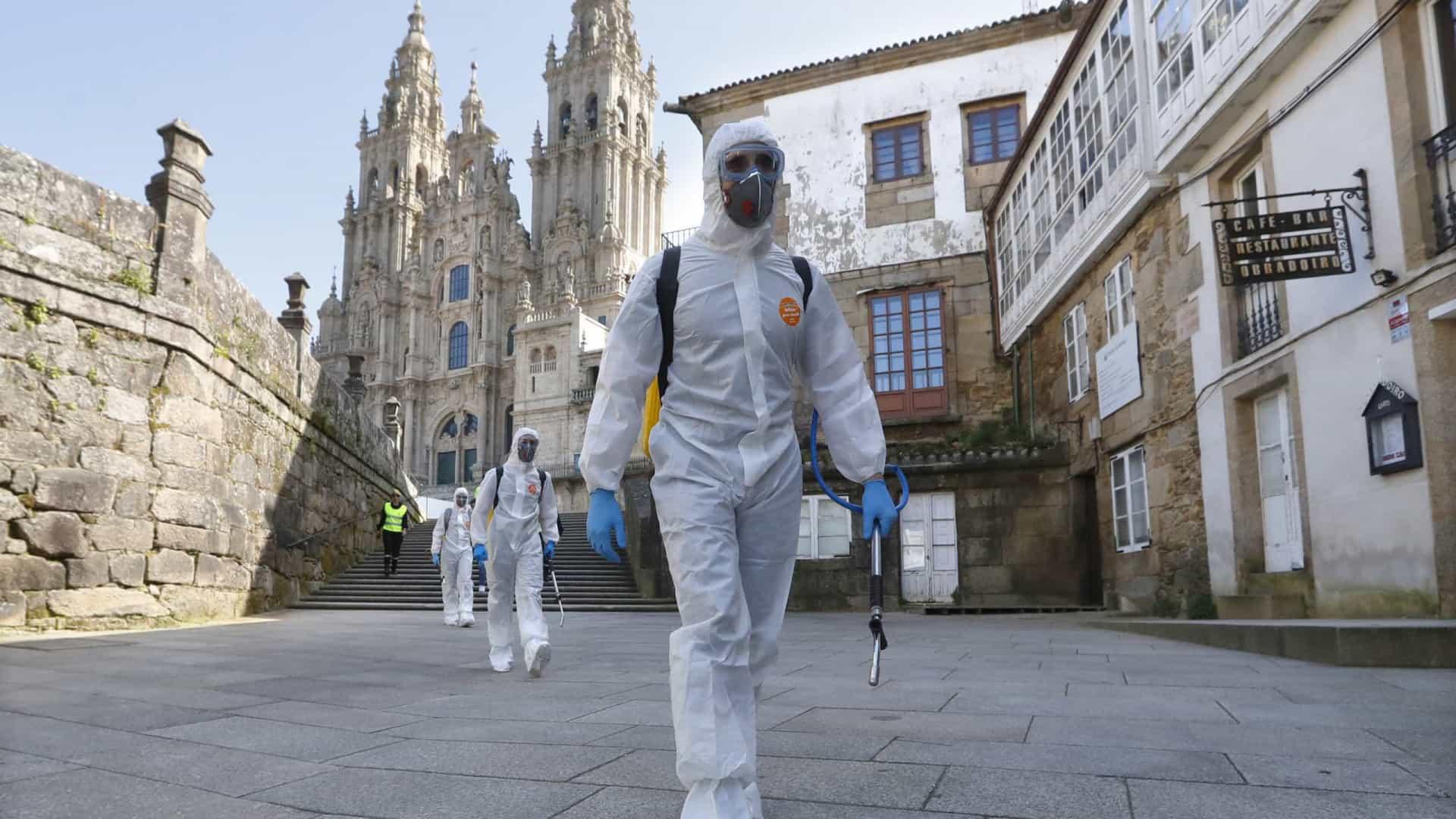 Galiza soma mais 20 aos 11.585 casos de covid-19. Vigo é cidade mais afectada