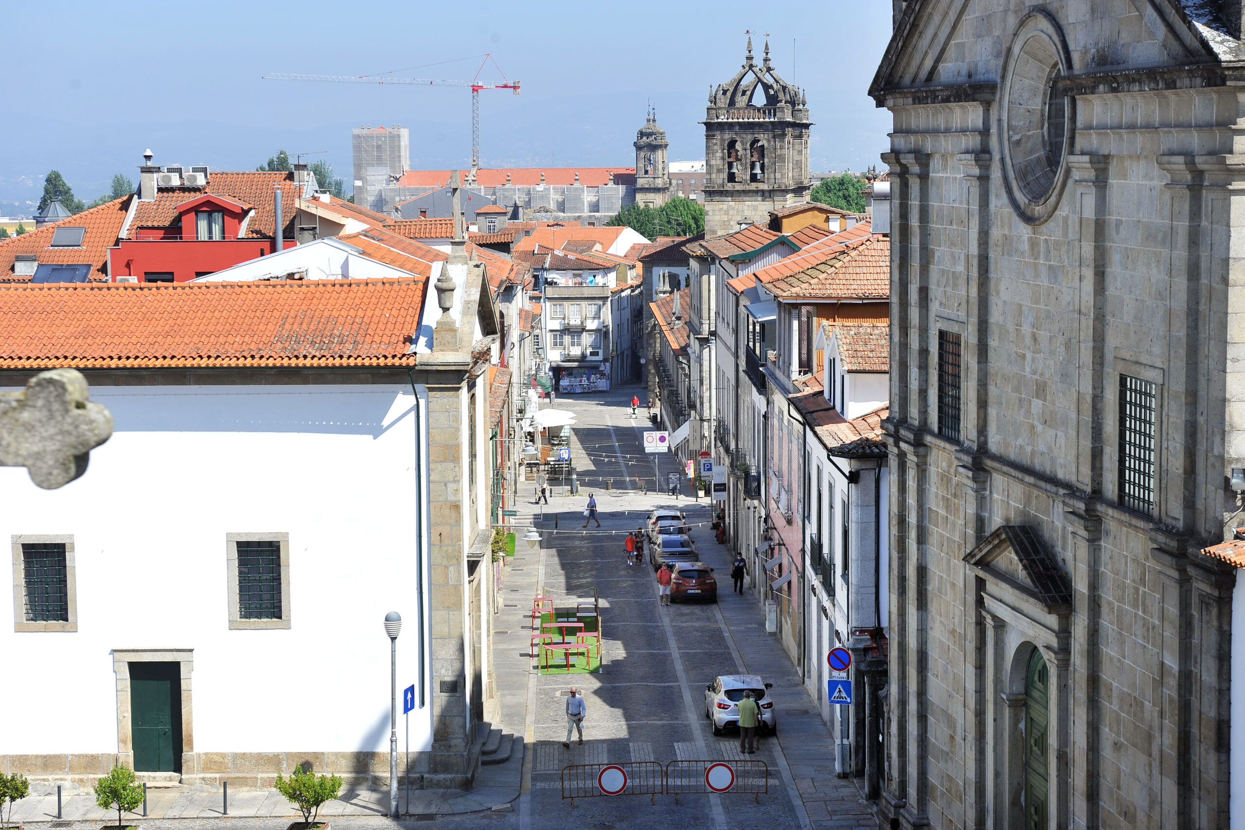 Rua do centro histórico de Braga encerra até final do Verão a partir desta sexta-feira