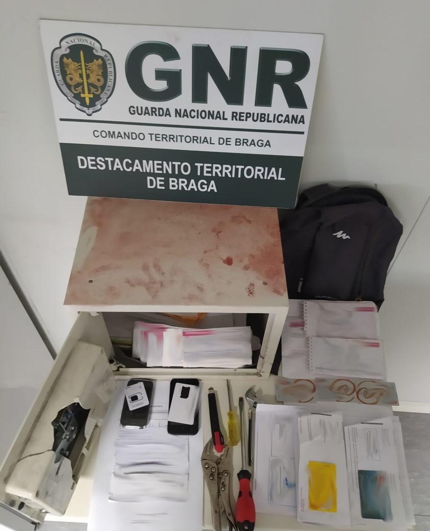 Detido três meses depois de ser libertado por furto em Braga