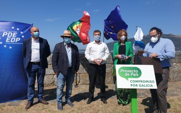 PDR e Compromiso Por Galicia assinam protocolo de criação de região Euro-Atlântica em Caminha