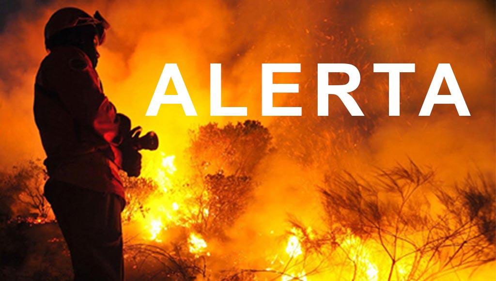 Braga e Vila Verde com risco 'máximo' de incêndio a partir desta quinta-feira