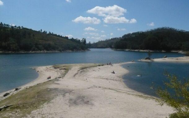 Todas as bacias hidrográficas com menos água em Julho