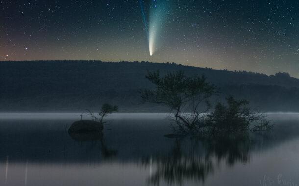 Vitor Ferreira conta como 'apanhou' a famosa foto do cometa Neowise no Gerês-Xurés