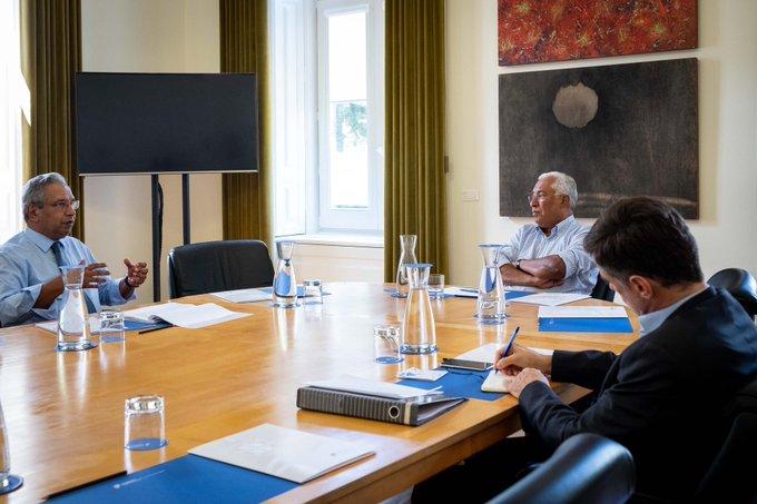 Primeiro-ministro regressa ao trabalho com controlo da pandemia na agenda