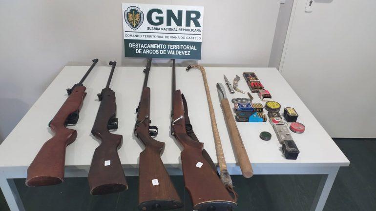 GNR detém idoso que agredia mulher em Arcos de Valdevez