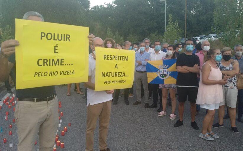 """Vizela promete lutar até """"ao fim"""" pelo fim da poluição do rio provocada pela ETAR (c/ vídeo)"""