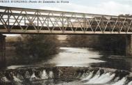 Petição pública pede resgate da Ponte Eiffel que fazia a travessia do rio Âncora. Ponte pertence à Câmara da Póvoa de Lanhoso