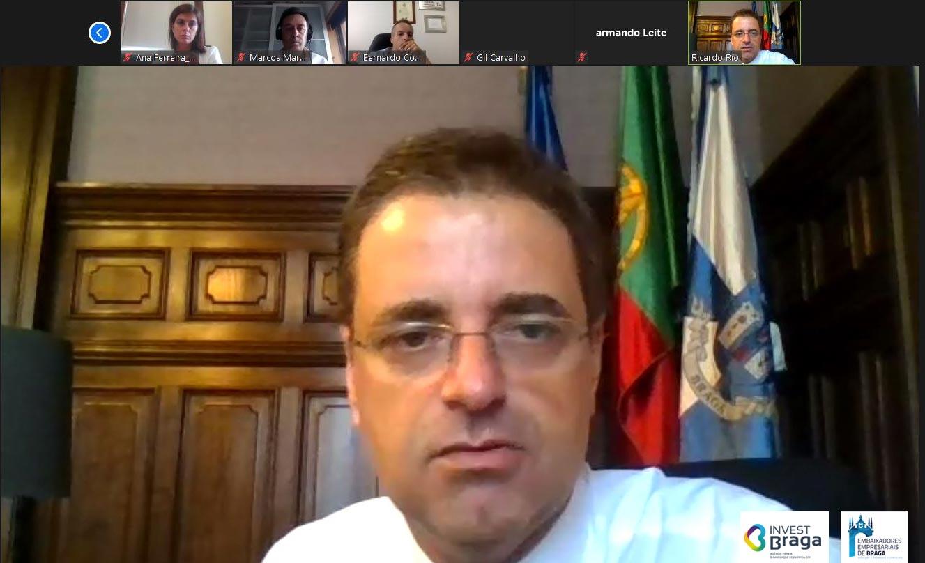 Ricardo Rio defende reforço de medidas de combate à pandemia