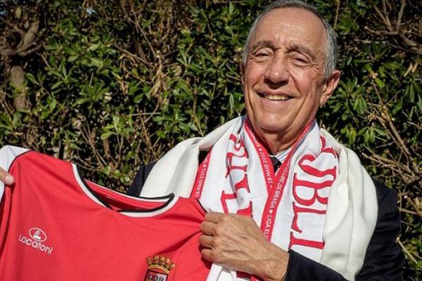 Marcelo rejeitou convite para comissão de honra do presidente do SC Braga