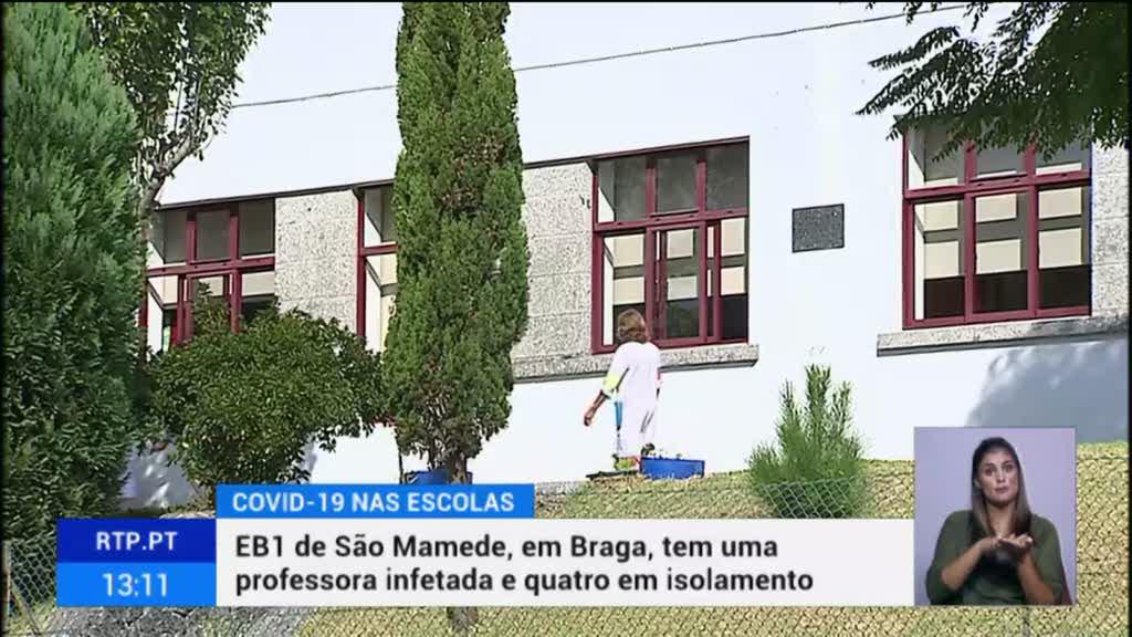 Governo não revela números de infecções em escolas desde o início do ano lectivo
