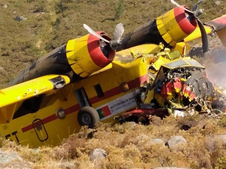 Alto Minho lamenta morte de co-piloto de Canadair que caiu em Agosto no Gerês