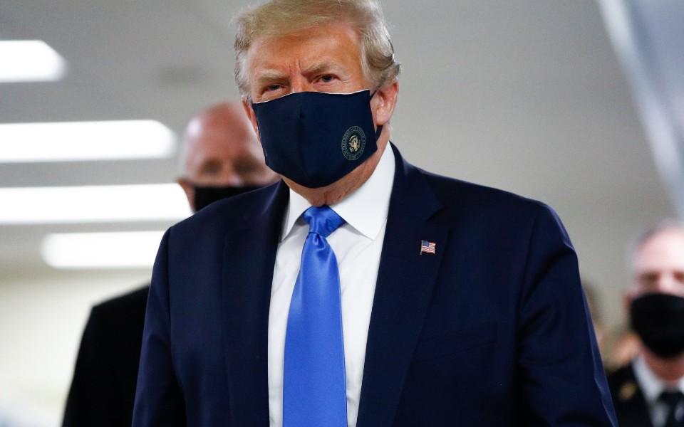 Dois terços dos americanos não confiam no que Trump diz sobre a pandemia