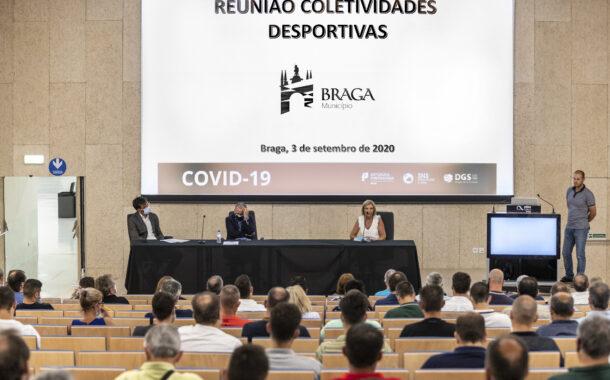 Colectividades de Braga apelam ao Governo que adopte mecanismos de apoio à retoma da actividade desportiva