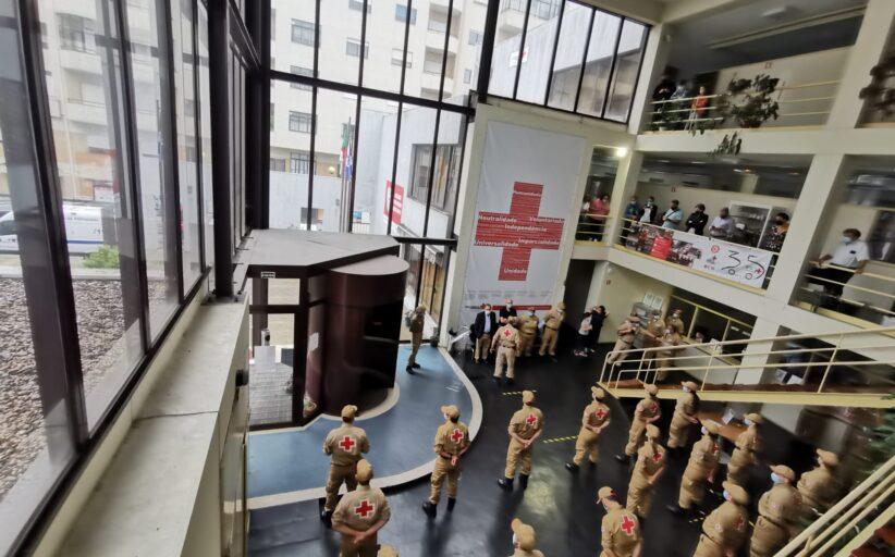 Novos voluntários da Cruz Vermelha juram bandeira em Braga